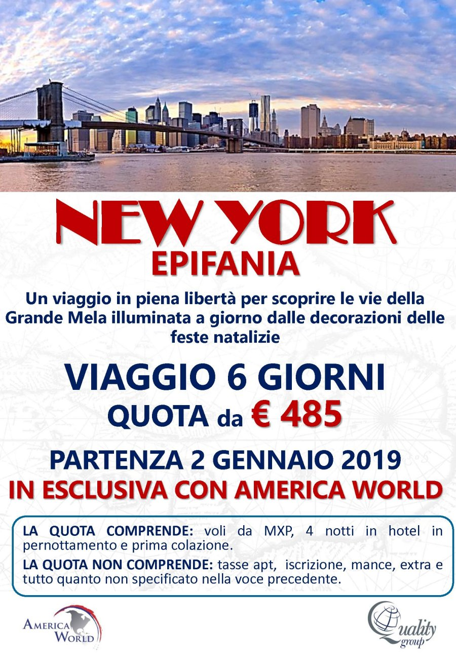 offerte New York con Quality Group proposta da Luz de Luna